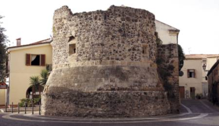 The medieval tower fo Portixedda